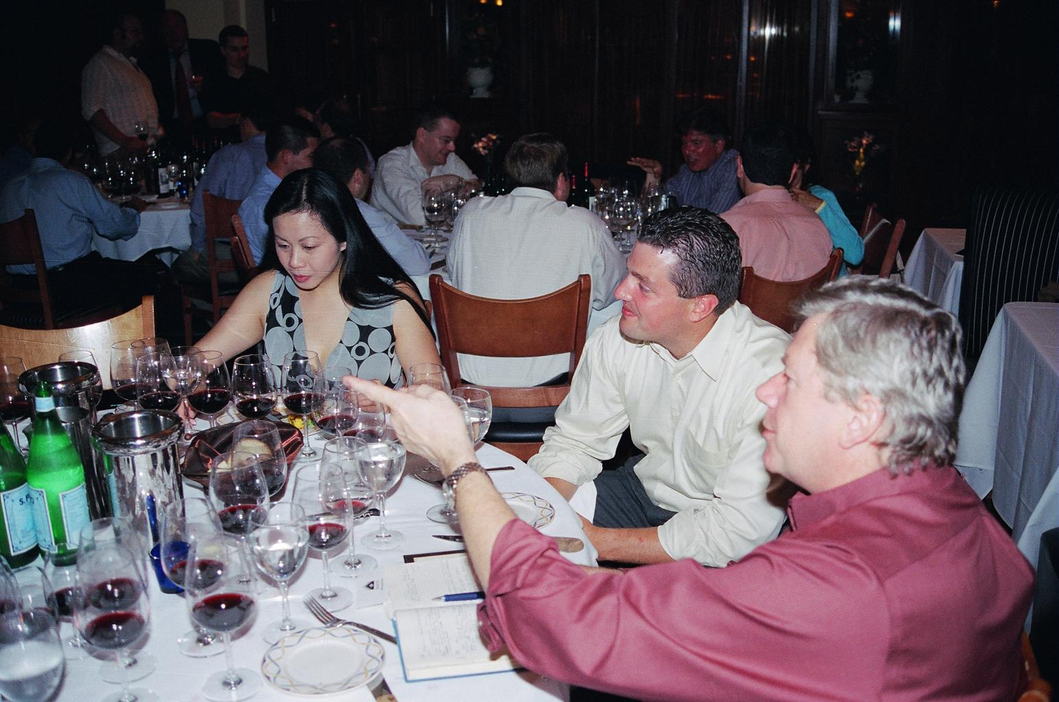 montelena estate cabernet dinner